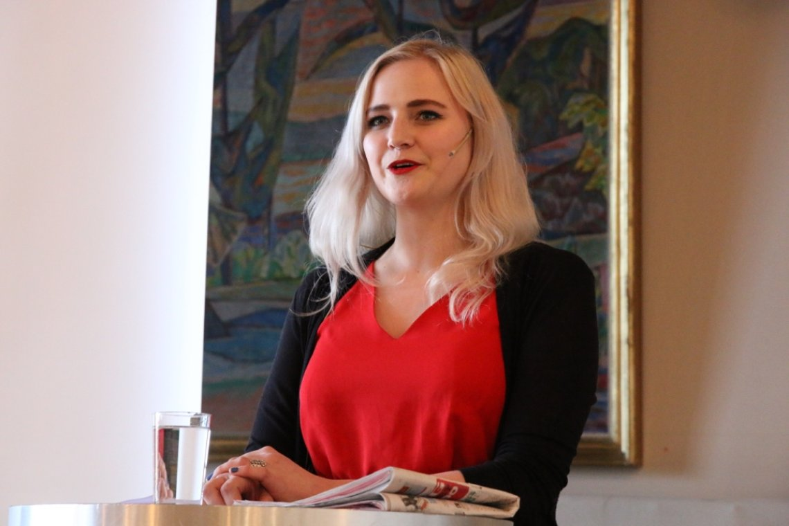 Ada Johanna Arnstad innstilt som leder i Senterungdommen