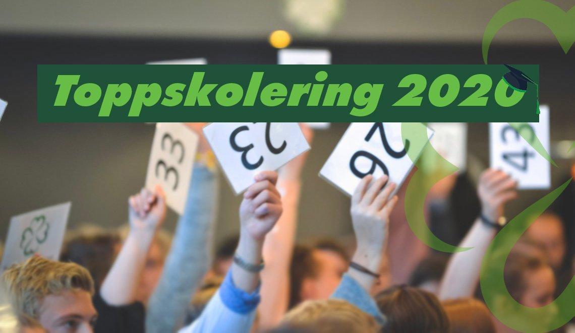 Bli med på Toppskolering 2020